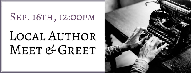 Local Author Meet & Greet