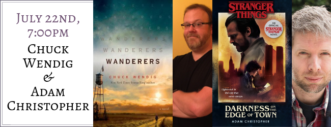 Chuck Wendig & Adam Christopher