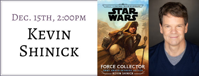 Kevin Shinick Signs Star Wars Force Collector Mysterious Galaxy Bookstore