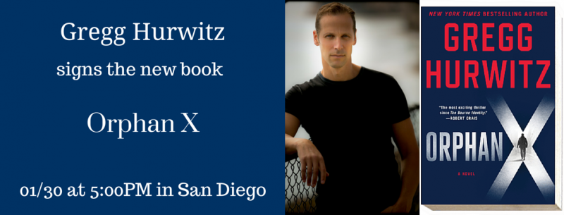Gregg Hurwitz discusses and signs ...