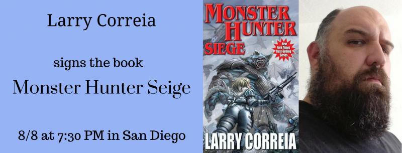 Larry Correia Signs In San Diego Mysterious Galaxy Bookstore
