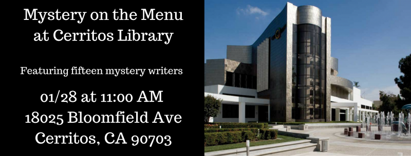 Mystery On The Menu In Cerritos Mysterious Galaxy Bookstore