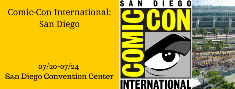 San Diego Comic Con International Mysterious Galaxy Bookstore