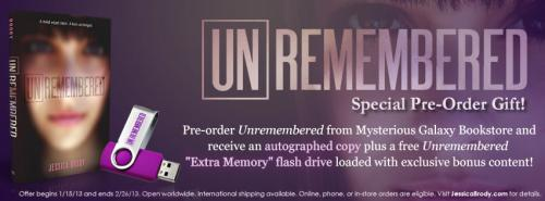 UnRemembered Banner