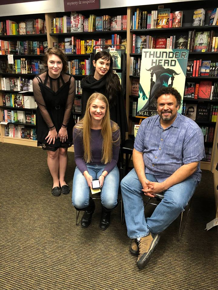 Staff with Neal Shusterman